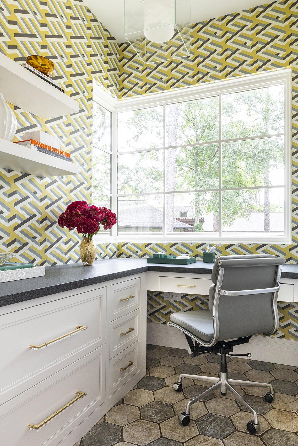 custom work station interior