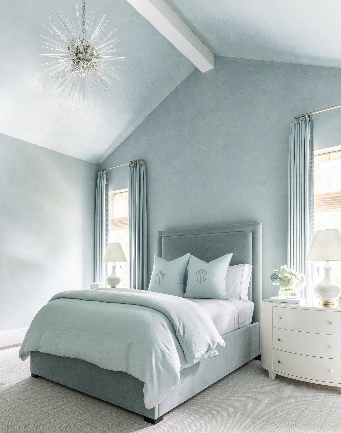 custom blue teal bedroom for kids