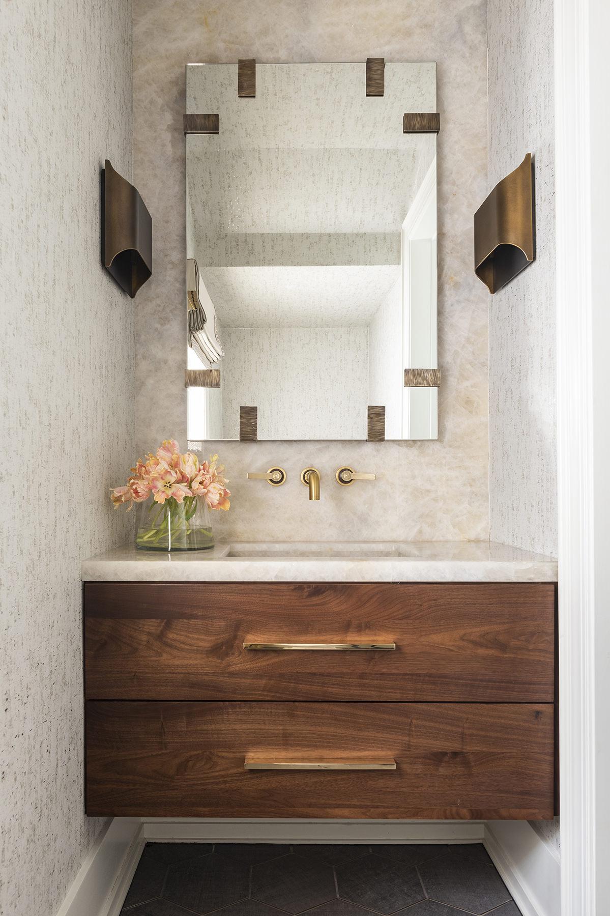 small and elegant bathroom sink